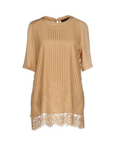 Фото - Женскую блузку TWINSET цвет верблюжий