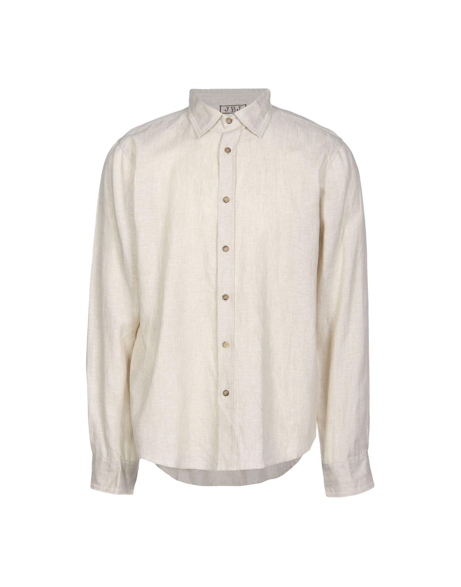 JUPE BY JACKIE Linen Shirt in Beige