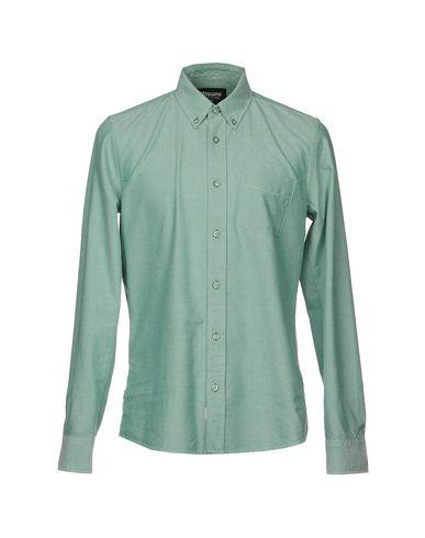 Фото - Pубашка зеленого цвета