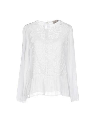 Купить Женскую блузку PINK MEMORIES белого цвета
