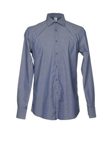 Фото - Pубашка от ETICHETTA 35 синего цвета
