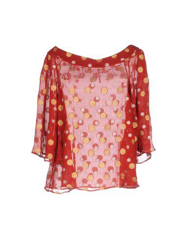 Фото - Женскую блузку MAISON LAVINIATURRA красного цвета