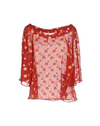 Фото 2 - Женскую блузку MAISON LAVINIATURRA красного цвета