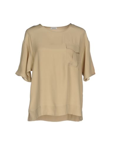 Фото - Женскую блузку P.A.R.O.S.H. бежевого цвета