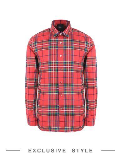 Купить Pубашка от DBYD x YOOX красного цвета