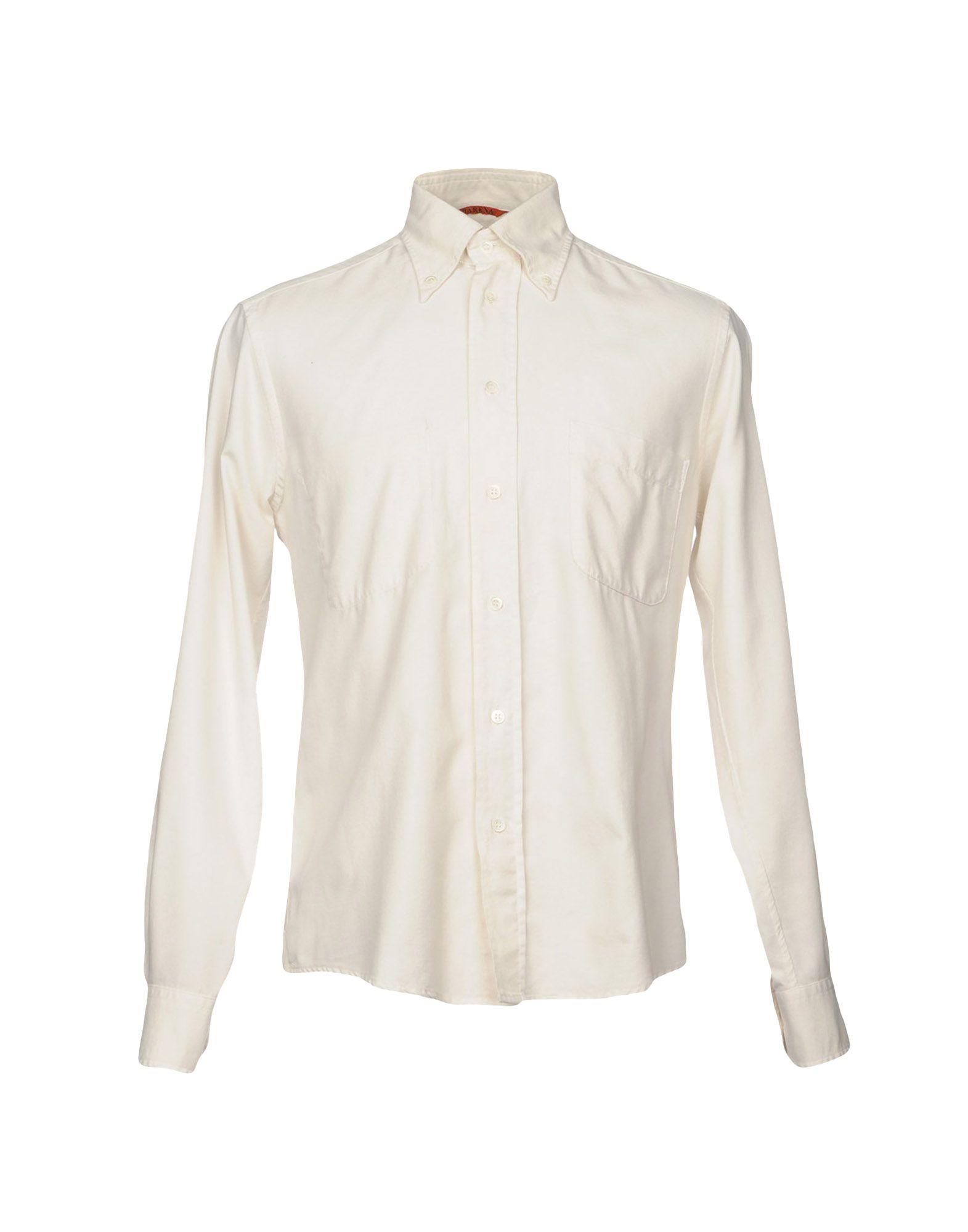 BARENA Herren Hemd Farbe Elfenbein Größe 5