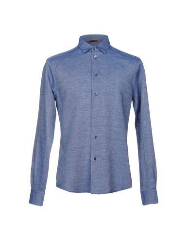 Фото - Pубашка от BARENA грифельно-синего цвета