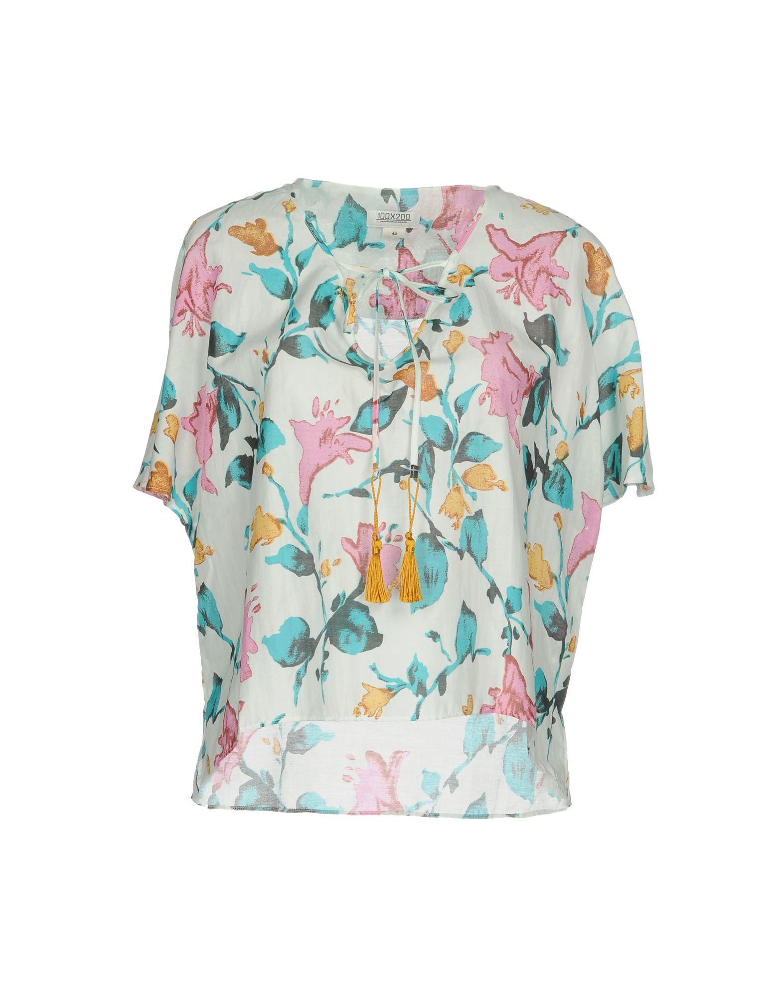 100X200 CENTOXDUECENTO Блузка 100x200 centoxduecento пляжное платье