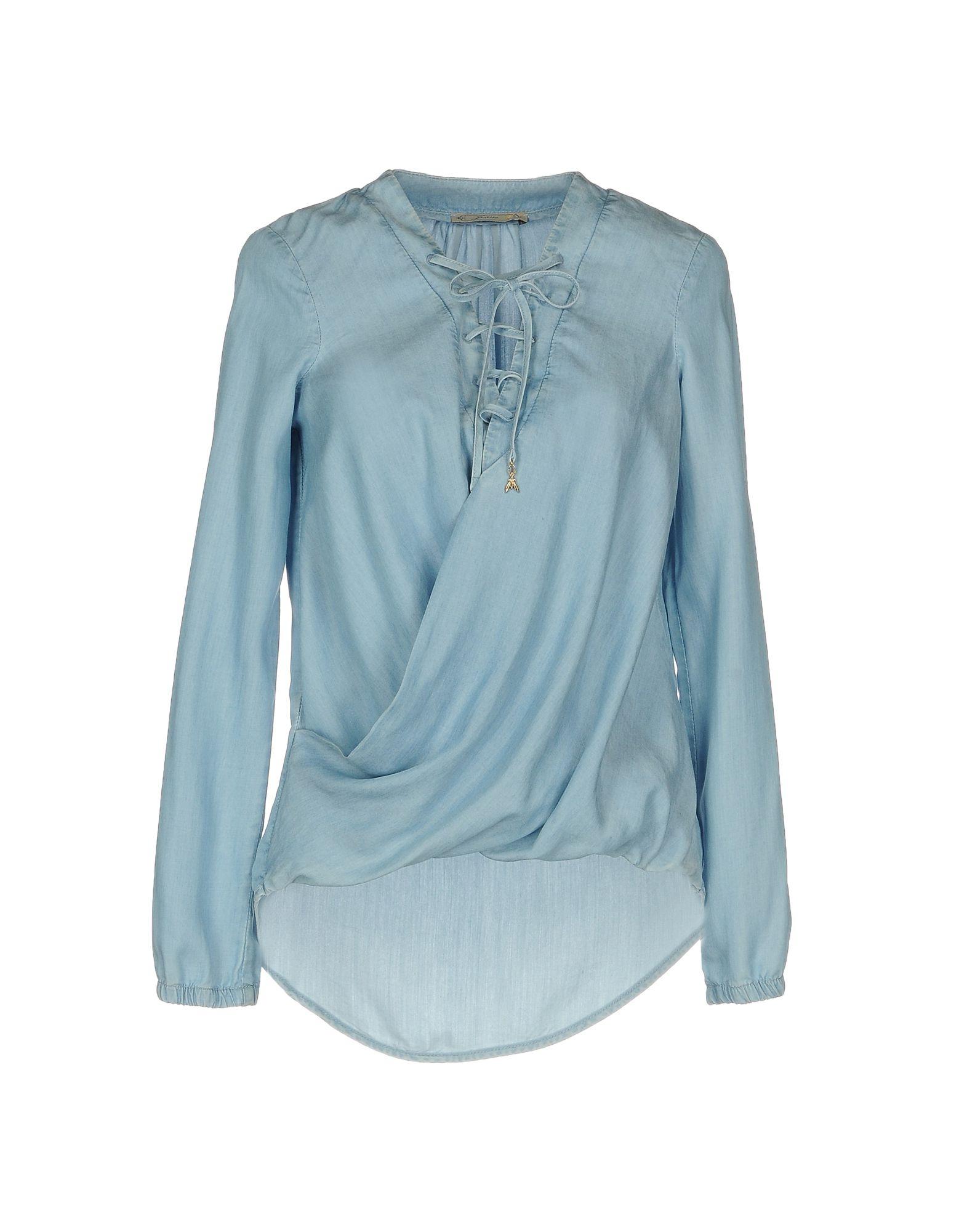 PATRIZIA PEPE Джинсовая рубашка allievi джинсовая рубашка