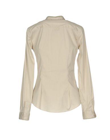 Фото 2 - Pубашка от CAMICETTASNOB светло-серого цвета