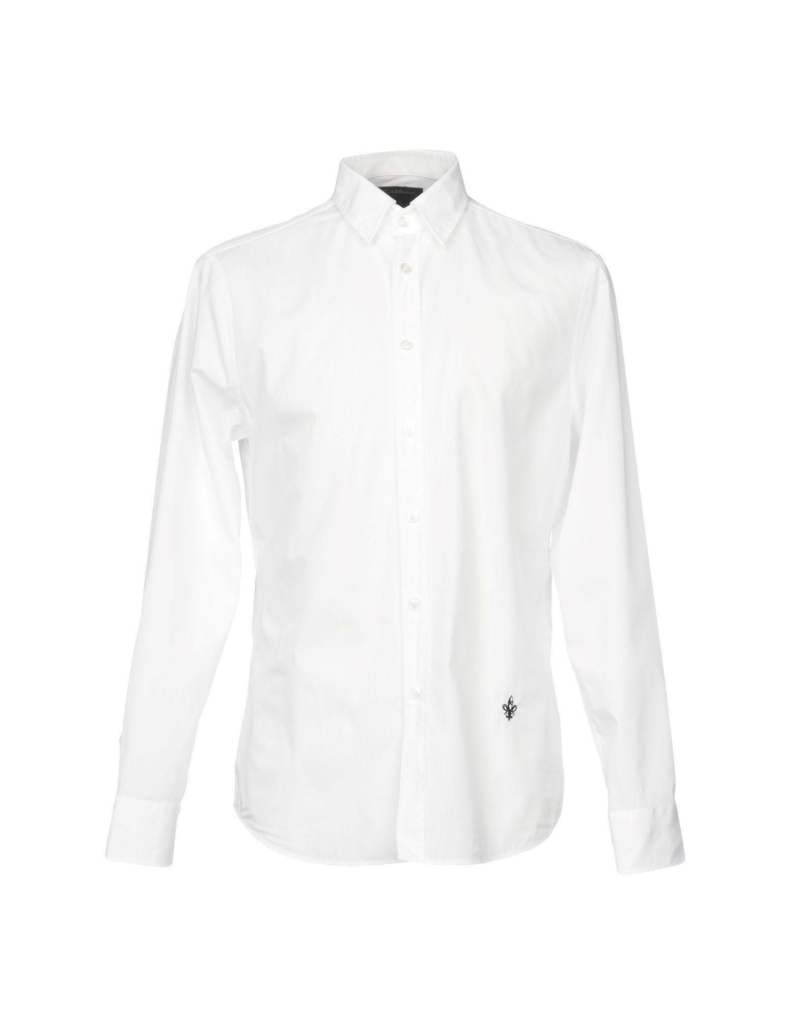 цена CLASS ROBERTO CAVALLI Pубашка онлайн в 2017 году