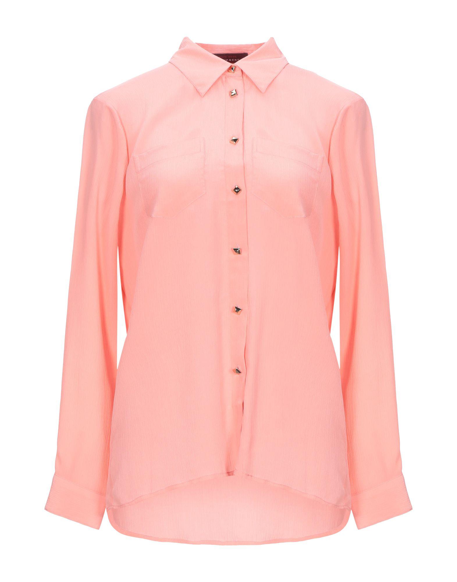 《セール開催中》KATE MOSS EQUIPMENT レディース シャツ ピンク S 100% シルク