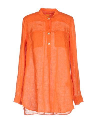 Фото - Женскую блузку  оранжевого цвета