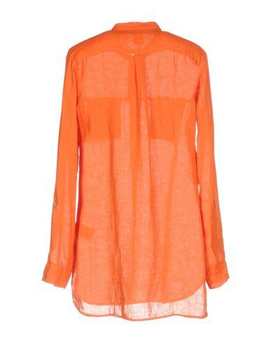 Фото 2 - Женскую блузку  оранжевого цвета