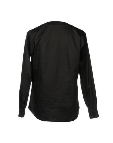 Фото 2 - Pубашка от CHRISTIAN PELLIZZARI черного цвета
