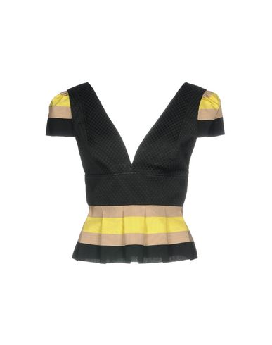 Фото - Женскую блузку CHRISTIAN PELLIZZARI черного цвета