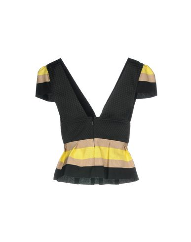 Фото 2 - Женскую блузку CHRISTIAN PELLIZZARI черного цвета