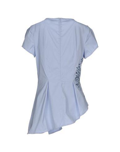 Фото 2 - Женскую блузку OBLIQUE CREATIONS небесно-голубого цвета