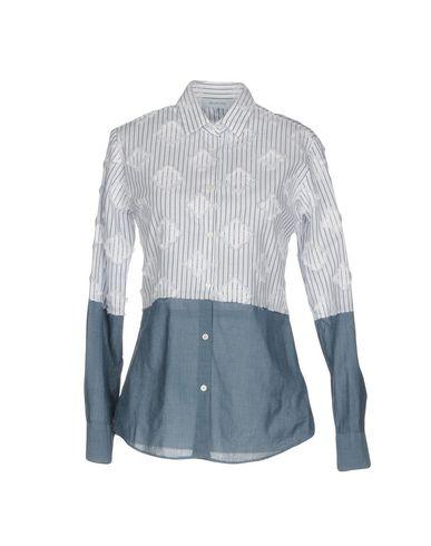Фото - Pубашка от AGLINI грифельно-синего цвета