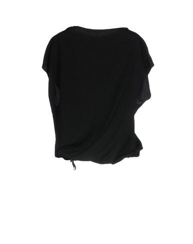 Фото 2 - Женскую блузку BARENA черного цвета