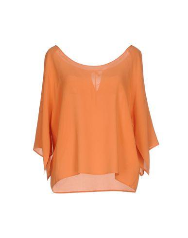 Фото - Женскую блузку ROBERTO COLLINA оранжевого цвета