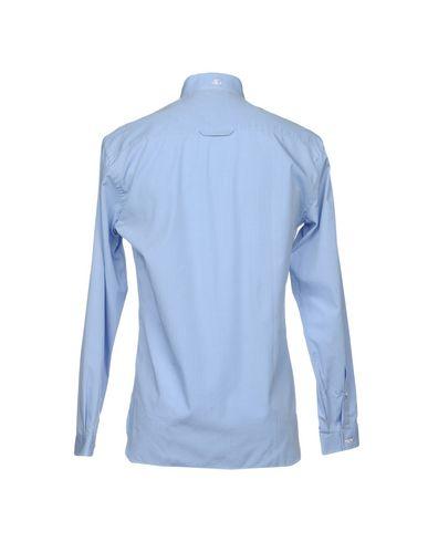 Фото 2 - Pубашка от Y;PSIL(O.N) небесно-голубого цвета