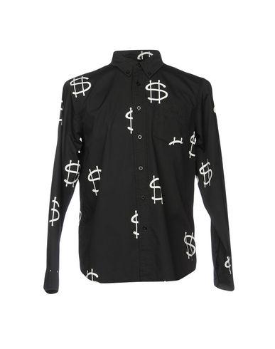 STUSSY メンズ シャツ ブラック M コットン 100%