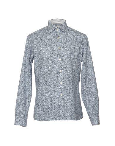 Фото - Pубашка от MIRTO темно-синего цвета