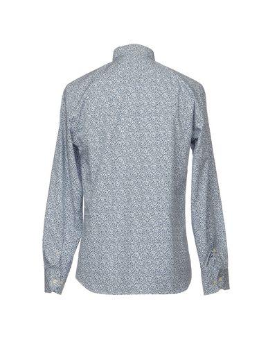 Фото 2 - Pубашка от MIRTO темно-синего цвета