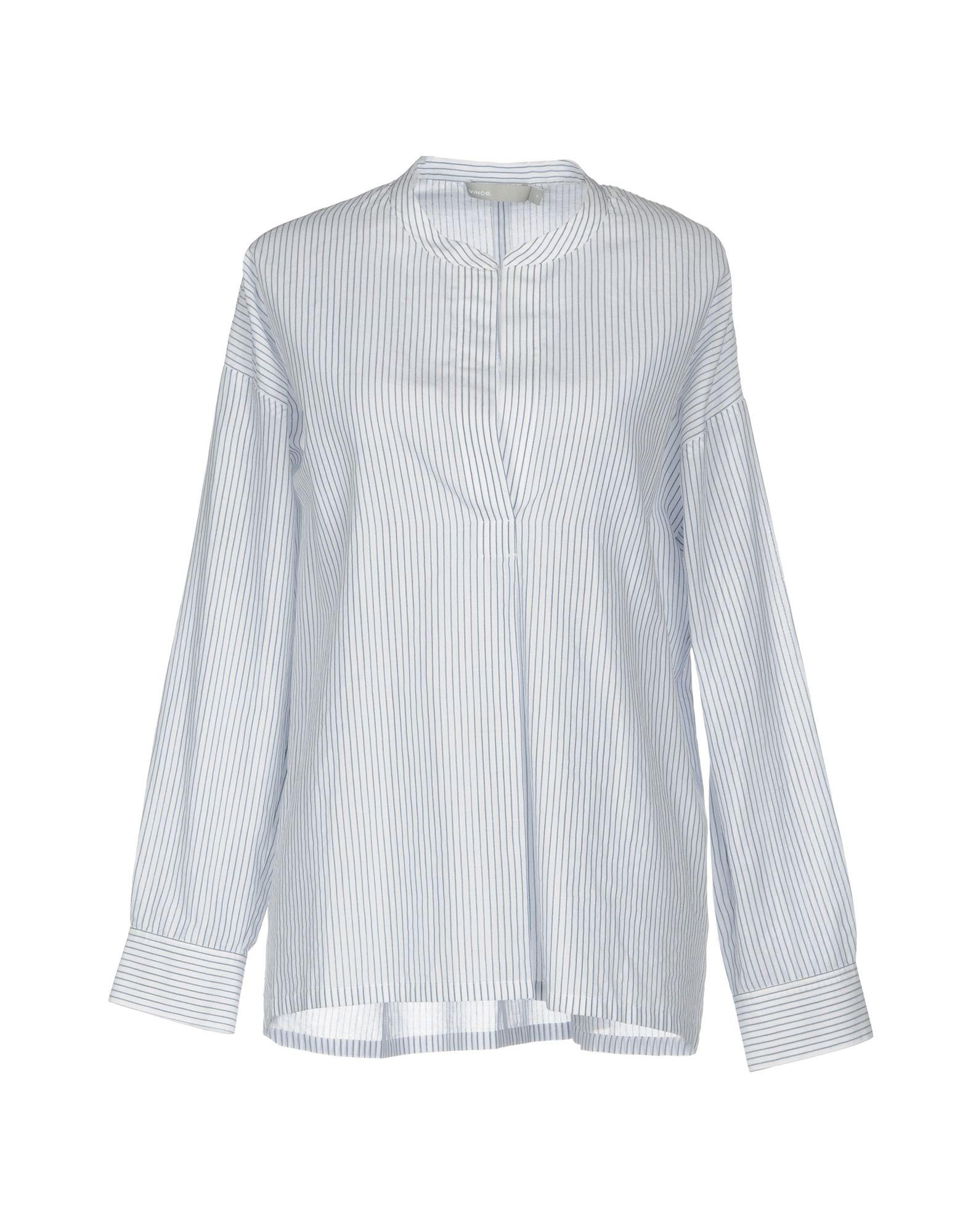 купить VINCE. Блузка по цене 9500 рублей