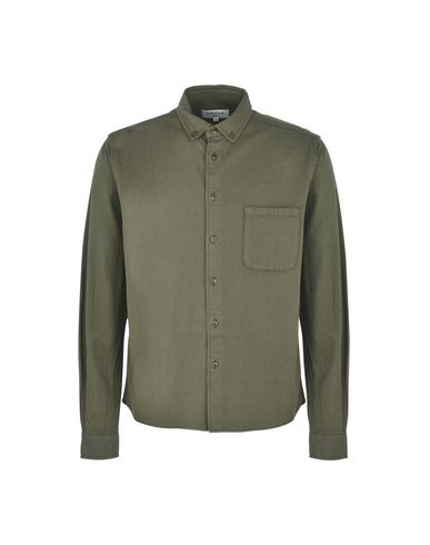 Фото - Pубашка от YMC YOU MUST CREATE цвет зеленый-милитари