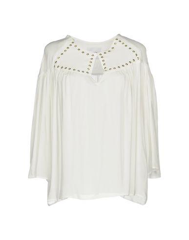 Фото - Женскую блузку ANNARITA N TWENTY 4H белого цвета