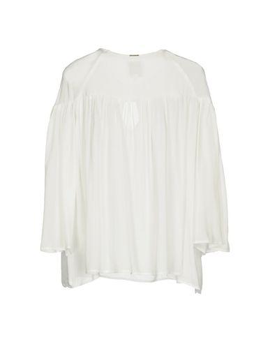 Фото 2 - Женскую блузку ANNARITA N TWENTY 4H белого цвета