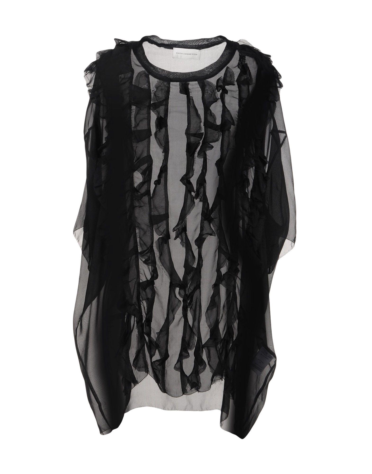 FAITH CONNEXION Блузка платье faith connexion цвет черный