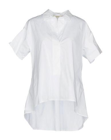 Фото - Женскую блузку ALPHA STUDIO белого цвета