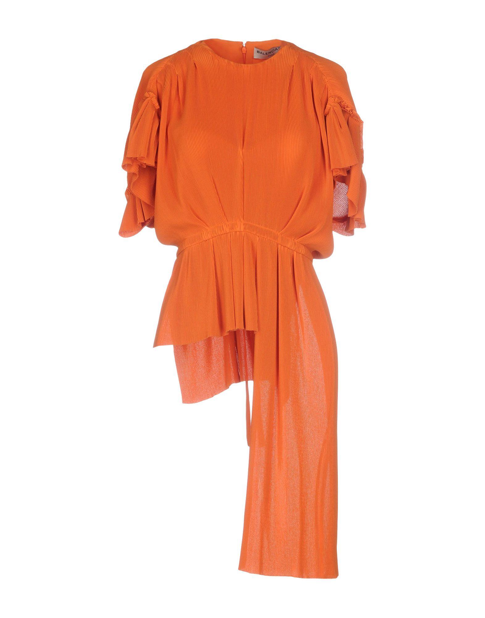 BALENCIAGA Damen Bluse Farbe Orange Größe 3
