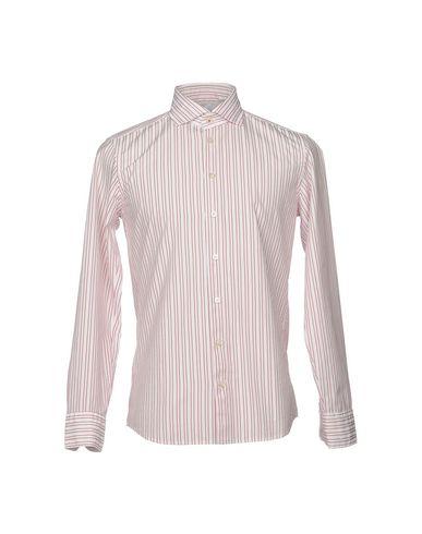 Фото - Pубашка от BASTONCINO красного цвета