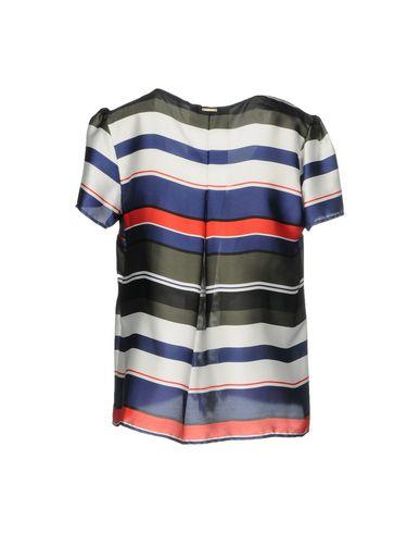Фото 2 - Женскую блузку ANNARITA N TWENTY 4H цвет зеленый-милитари