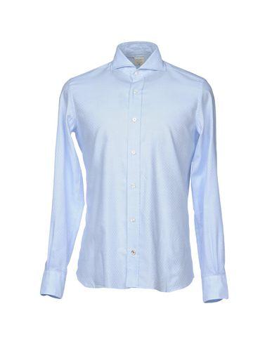 Фото - Pубашка от MAZZARELLI небесно-голубого цвета