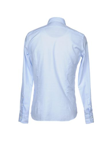 Фото 2 - Pубашка от MAZZARELLI небесно-голубого цвета