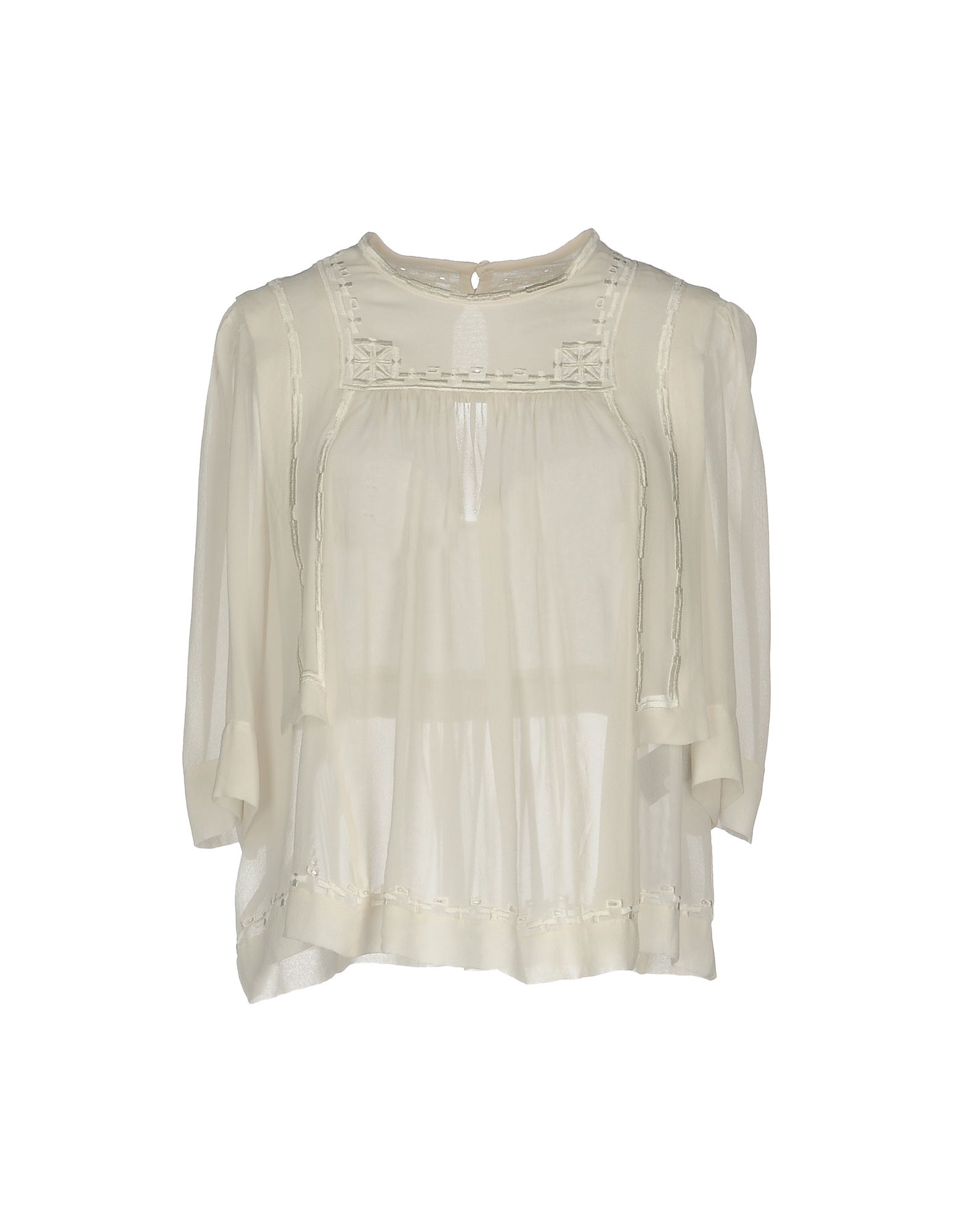 ISABEL MARANT Damen Bluse Farbe Weiß Größe 5