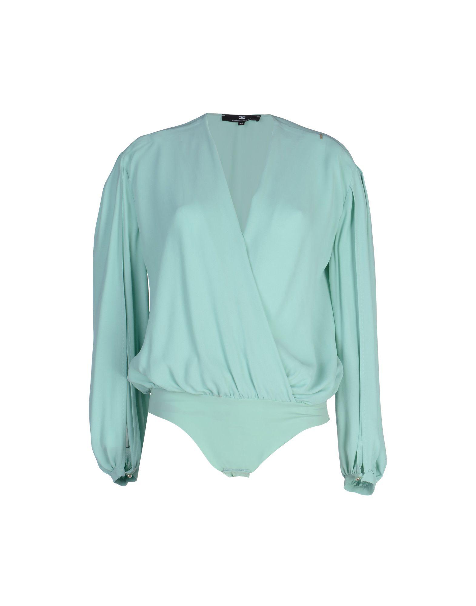 ELISABETTA FRANCHI Блузка цены онлайн