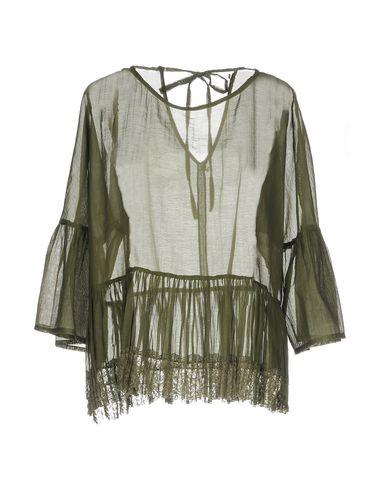 Фото - Женскую блузку  цвет зеленый-милитари