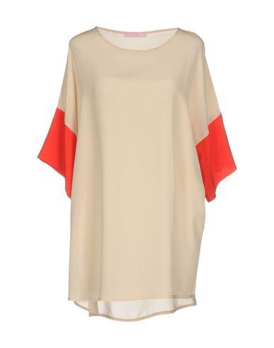 Блузка FRANCESCA FERRANTE. Цвет: бежевый