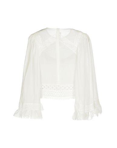 Фото 2 - Женскую блузку McQ Alexander McQueen белого цвета