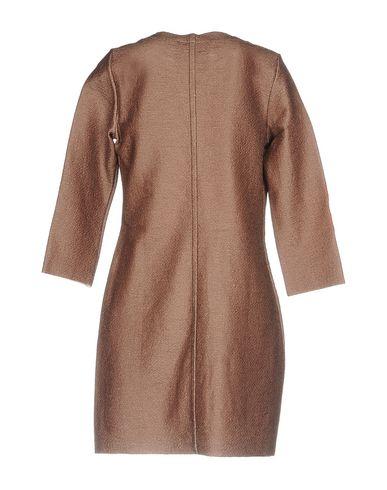 Фото 2 - Легкое пальто коричневого цвета