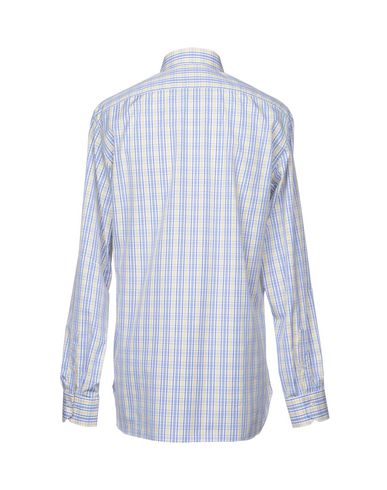 Фото 2 - Pубашка от ISAIA синего цвета