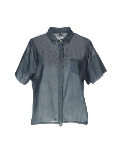 FEDELI レディース シャツ ブルー 44 コットン 100%