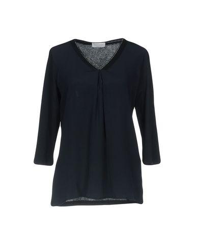 Фото - Женскую блузку GRAN SASSO темно-синего цвета