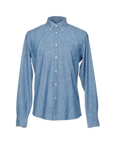Foto DEPERLU Camicia jeans uomo Camicie jeans